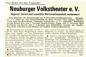 Neuburger Volkstheater e.V.