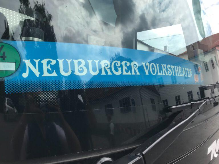 Neuburger Volkstheater on Tour